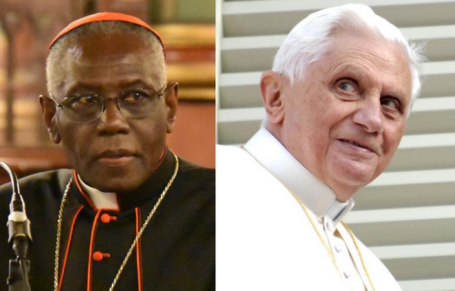 """""""Z kardynałem Sarahem liturgia jest w dobrych rękach"""""""