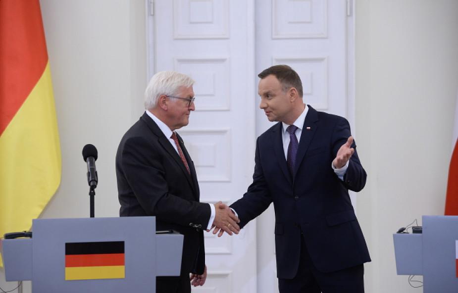 Duda: Europa potrzebuje solidarności; Steinmeier: Polska to rdzeń Europy