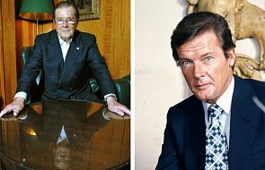 Nie żyje Roger Moore, odtwórca roli Jamesa Bonda