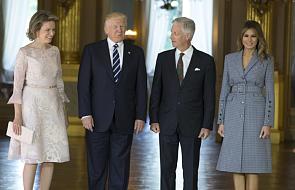 Donald Trump przyleciał do Brukseli