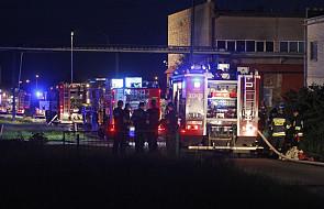 Dwóch strażaków zginęło w akcji gaśniczej w Białymstoku