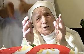 Zmarła najstarsza zakonnica świata - miała 110 lat