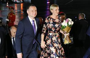 Para prezydencka przybyła do Gruzji