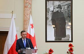 Prezydent: Gruzja może cały czas liczyć na Polskę
