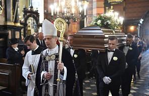 Ks. Tyrała na pogrzebie Wodeckiego: żył dla innych, nie da siebie