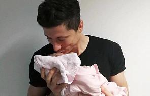 Robert Lewandowski pochwalił się, że został ojcem