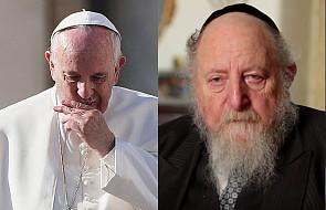 Papież przyjął naczelnego rabina Galicji