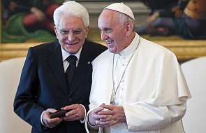 Prezydent Włoch entuzjastą papieża Franciszka