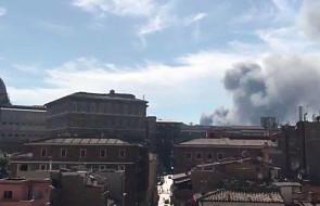 Pożar w pobliżu Watykanu [AKTUALIZUJEMY]