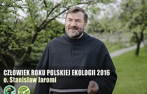 """Franciszkanin """"Człowiekiem Roku Polskiej Ekologii"""""""