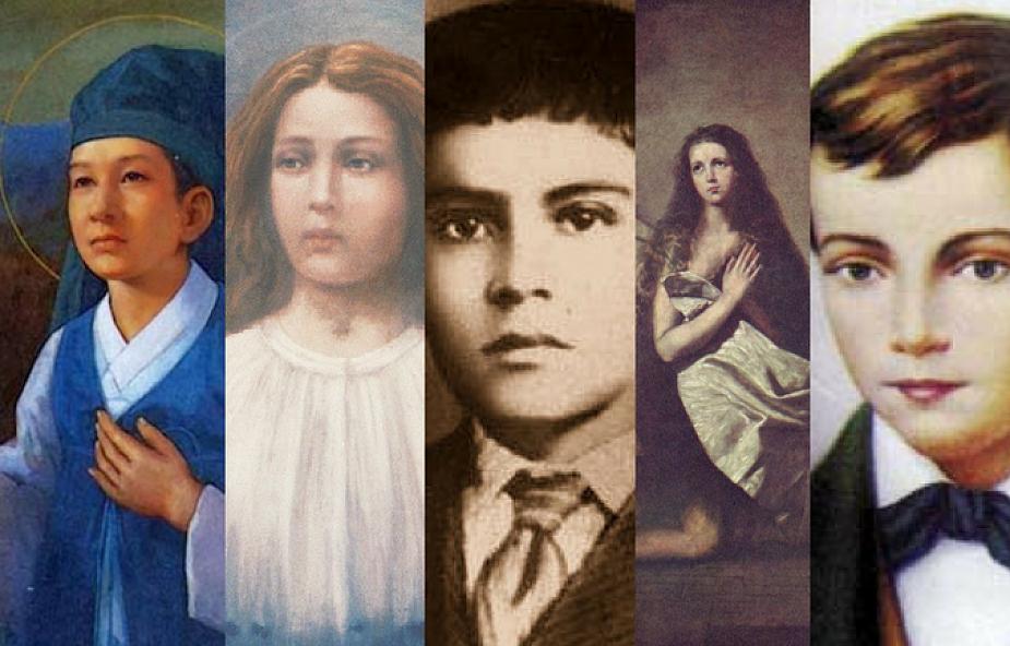 5 najmłodszych świętych, których życie porusza