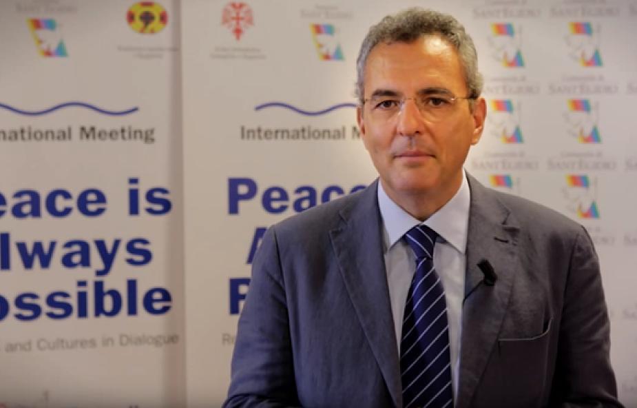 Przewodniczący Wspólnoty Sant'Egidio na forum RB ONZ