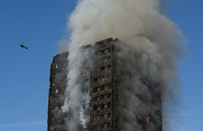 Co najmniej 6 osób zginęło w pożarze wieżowca