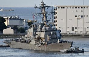 Trwają poszukiwania zaginionych członków załogi USS Fitzgerald