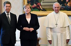 Papież przyjął na audiencji kanclerz Merkel