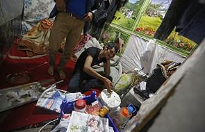 W Calais znów koczuje 400-600 migrantów