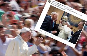 Dlaczego papież ma na głowie dziwny hełm?
