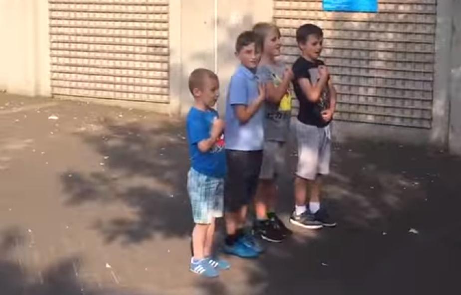 Lekcja patriotyzmu od polskich dzieci z Irlandii [WIDEO]