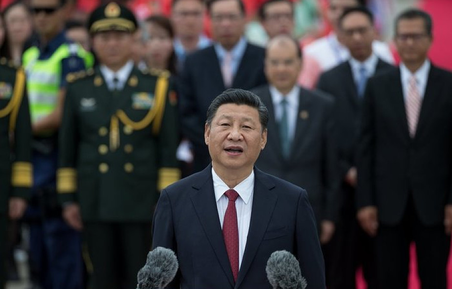 Prezydent Chin przybył do Hongkongu