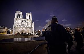 Katedra Notre Dame w Paryżu zamknięta