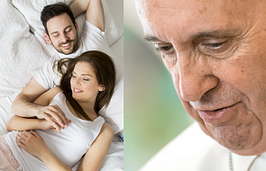 Papież o parach mieszkających bez ślubu