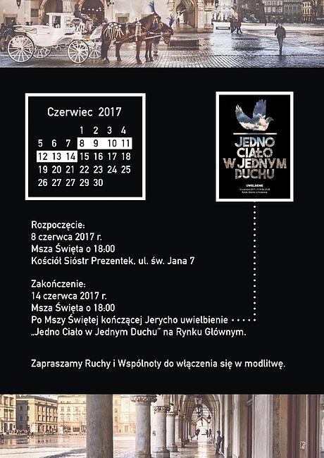 Modlitwa o nową Pięćdziesiątnicę dla Krakowa - zdjęcie w treści artykułu nr 1
