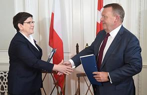 Szydło: relacje gospodarcze Polski i Danii będą silniejsze