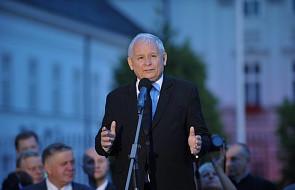 Kaczyński: będziemy kontynuować swój marsz