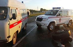 Rosja: 14 ofiar śmiertelnych zderzenia autobusu z ciężarówką
