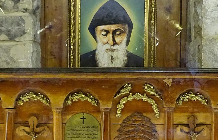 Przywieziono relikwie św. Charbela do sanktuarium św. Jana Pawła II w Krakowie