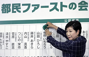 Japonia: rządząca partia przegrała wybory w Tokio