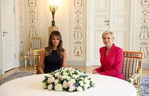 Pierwsze damy USA i Polski spotkały się w Belwederze
