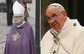 Papież o kard. Macharskim: był oddany ludziom z ufnością, którą pokładał w Jezusie Miłosiernym