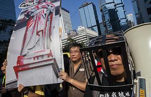 Hongkong: Protesty przeciwko uwięzieniu prodemokratycznych działaczy