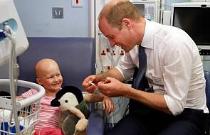 Książe William zadał chorej dziewczynce ważne pytanie