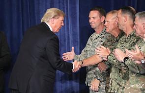 Szef NATO zadowolony z nowej strategii Trumpa wobec Afganistanu