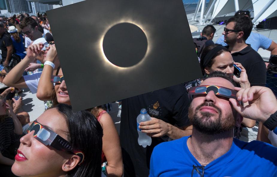 USA: miliony Amerykanów i turystów były świadkami zaćmienia Słońca [GALERIA]