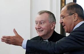 Moskwa: kard. Parolin spotkał się z szefem rosyjskiej dyplomacji