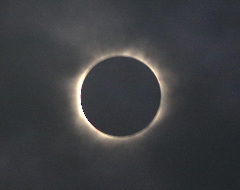 USA: miliony Amerykanów i turystów były świadkami zaćmienia Słońca [GALERIA] - zdjęcie w treści artykułu