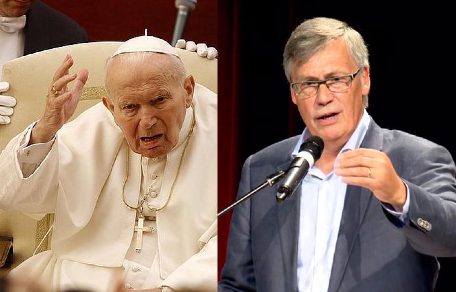 Nie chciałem Jana Pawła II w swoim kraju