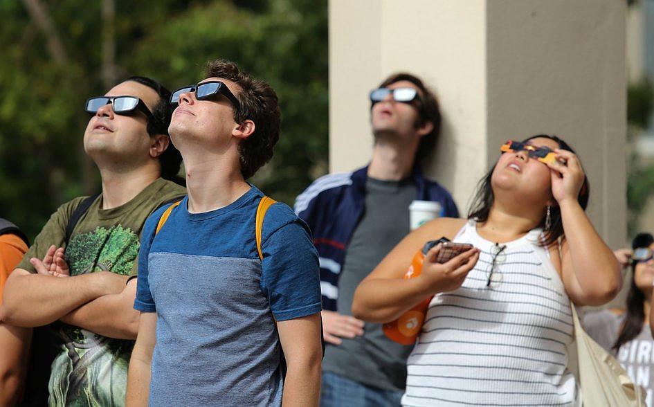 USA: miliony Amerykanów i turystów były świadkami zaćmienia Słońca [GALERIA] - zdjęcie w treści artykułu nr 6
