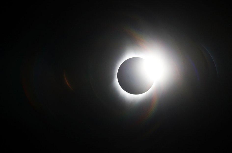 USA: miliony Amerykanów i turystów były świadkami zaćmienia Słońca [GALERIA] - zdjęcie w treści artykułu nr 5