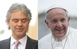 Andrea Bocelli zaśpiewał dla papieża Franciszka [WIDEO]