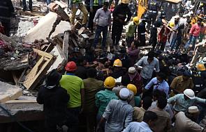 Indie: 21 ofiar śmiertelnych zawalenia się domu w Bombaju