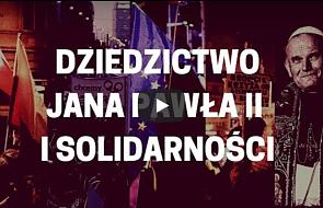 """Konkurs """"Dziedzictwo Jana Pawła II i Solidarności"""""""