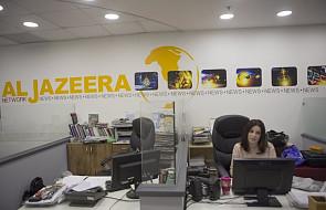 Al-Dżazira krytykuje zapowiedź Izraela zamknięcia oddziału tej telewizji