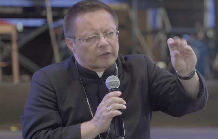 Mocne przesłanie biskupa Rysia na Woodstocku
