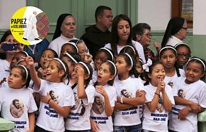 Kolumbia: papież odwiedził dzieci z Domu św. Józefa