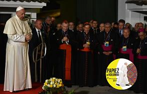 Papież do duchowieństwa: to gałęzie, które postanowiły uschnąć, a Bóg poleca nam, byśmy je obcięli [KOLUMBIA 2017]