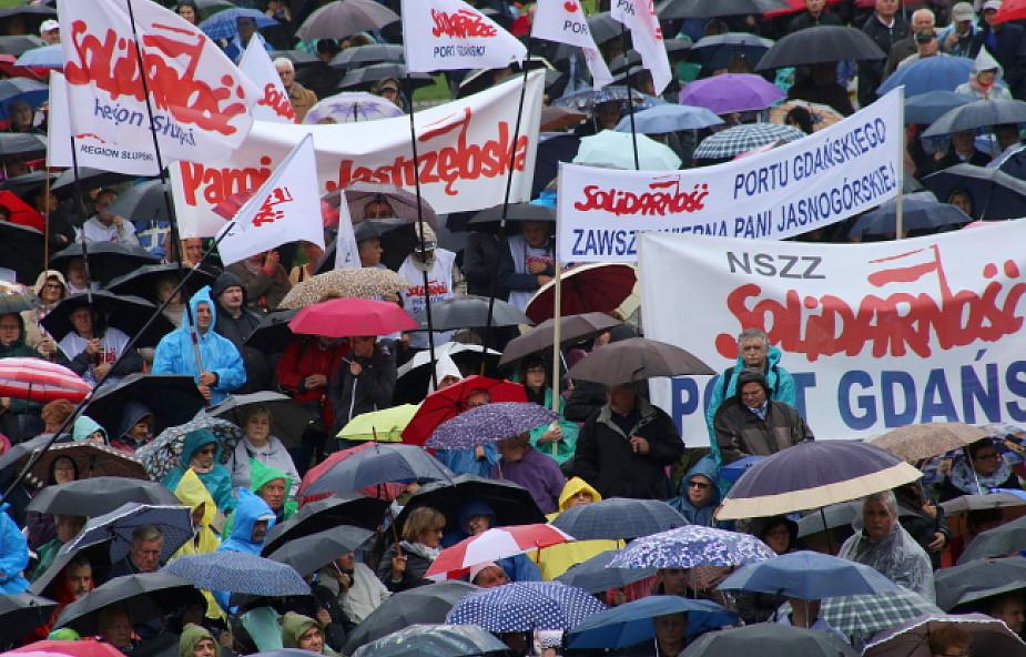 """XXXV Pielgrzymka Ludzi Pracy na Jasną Górę. Apel """"Solidarności"""" o wolną niedzielę"""